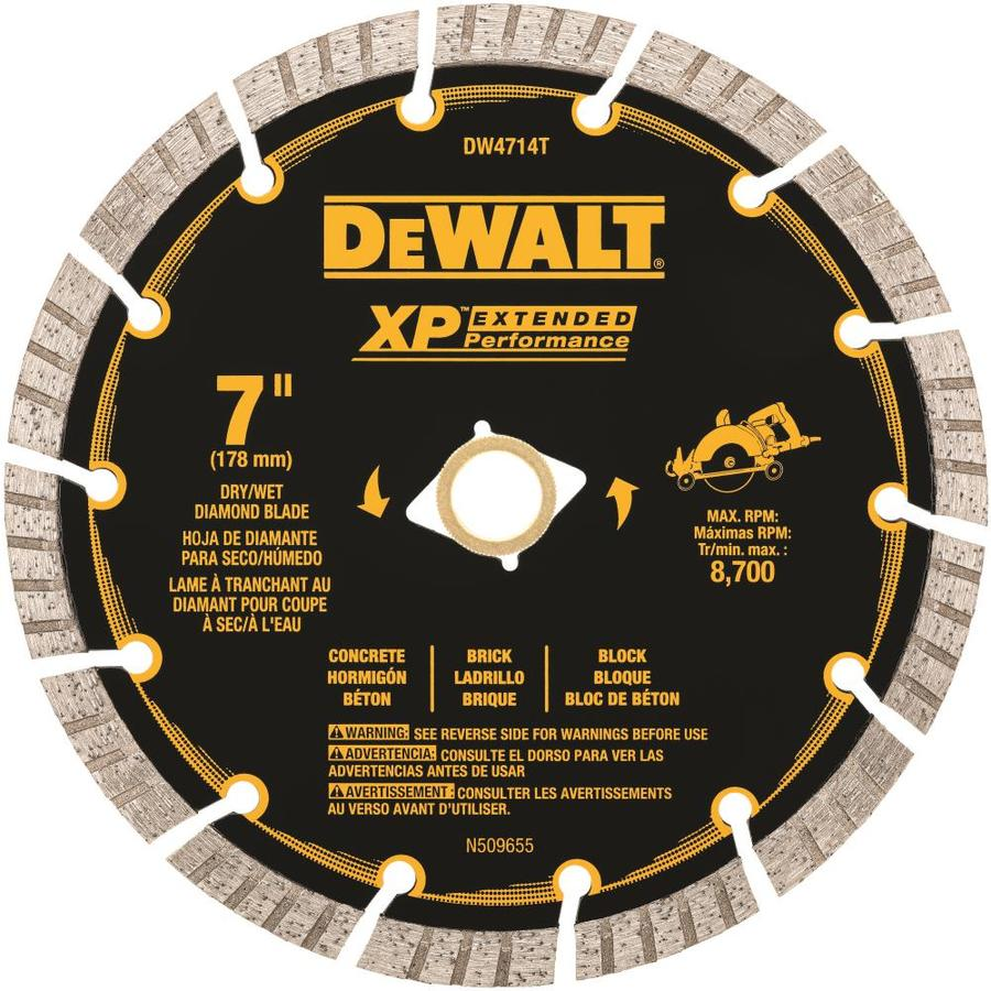 DEWALT XP Diamond 7-in Grinding Wheel