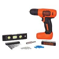 Deals on BLACK+DECKER 43-Piece Household Tool Set BDCD8HDPK