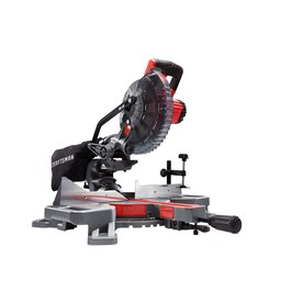 CRAFTSMAN V20 7-1/4-in-Amp 20-Volt Max Single Bevel Sliding Compound Cordless Miter Saw
