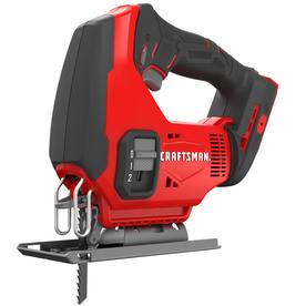 Craftsman 20V MAX 11/16 in. Cordless Keyless Jig Saw 20 volt 2500 spm U and T Shank - Case Of: 1