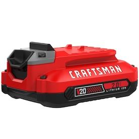 CRAFTSMAN V20 20-Volt Max 2 Amp-Hour Lithium Power Tool Battery