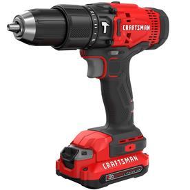 Craftsman V20 1 2 In 20 Volt Max Variable Sd Cordless Hammer Drill