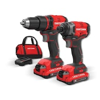 Deals on Craftsman V20 2-Tool Brushless Power Tool Combo Kit CMCK210C2