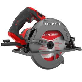 Craftsman 7-1/4 in. 15 amps Corded Lightweight Circular Saw 5500 rpm 11.15 lb. Red