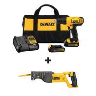 DEWALT 20-Volt Max 1/2-in Cordless Drill (2-Batteries Included) Deals