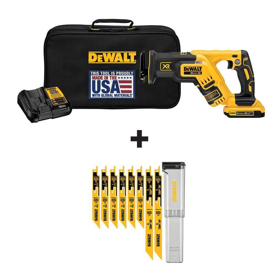 Shop dewalt xr 20 volt max variable speed brushless cordless dewalt xr 20 volt max variable speed brushless cordless reciprocating saw battery included greentooth Image collections