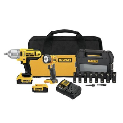 Dewalt 2-Tool 20-Volt Max Power Tool Combo Kit with Soft Case