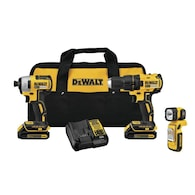 Deals on DEWALT 3-Tool 20-Volt Max Brushless Power Tool Combo Kit