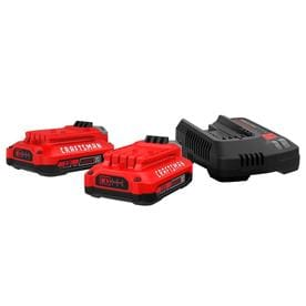 Craftsman Tools V20 2-Pack 20-volt Max 2-Amp-Hours Lithium Power Tool Battery Kit