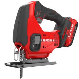CRAFTSMAN 20-volt Max Variable Speed Keyless Cordless Jigsaw (Battery Included)