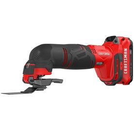 CRAFTSMAN V20 15-Piece Cordless 20-Volt Max Variable Speed Oscillating Multi-Tool Kit with Soft Case (1-Battery Included)