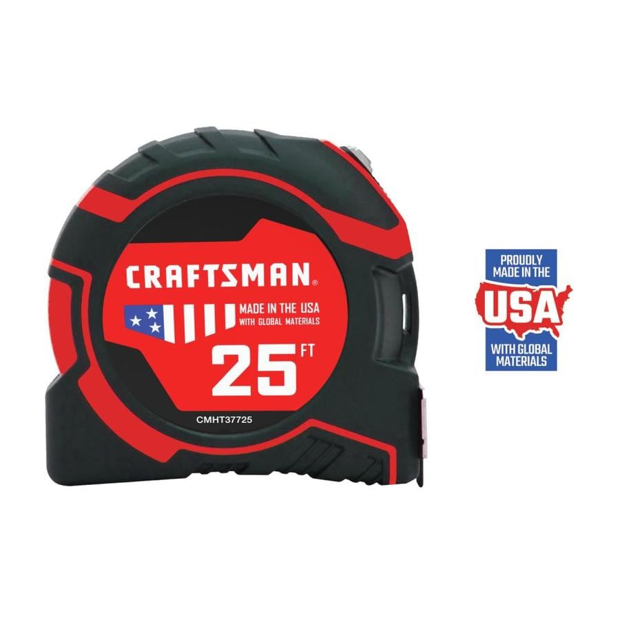 Shop Craftsman 25 Ft Tape Measure At Lowes Com