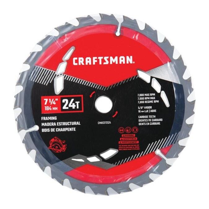 24 Tooth Carbide Circular Saw Blade