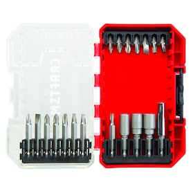 CRAFTSMAN 19-Piece Steel Hex Shank Screwdriver Bit Set