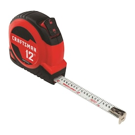 CRAFTSMAN SELF-LOCK 12-ft Auto Lock Tape Measure