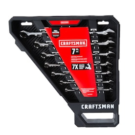 CRAFTSMAN 7-Piece 12-Point Standard (SAE) Standard Combination Wrench Set