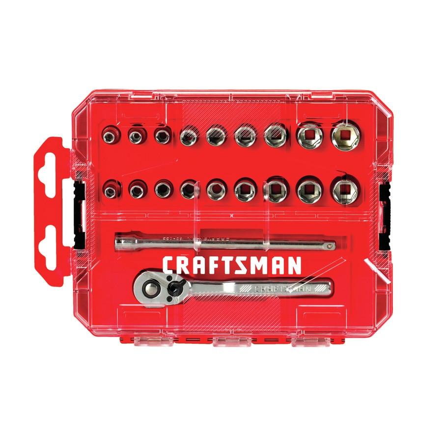 Lowes craftsman socket set aeg bsb18b2m