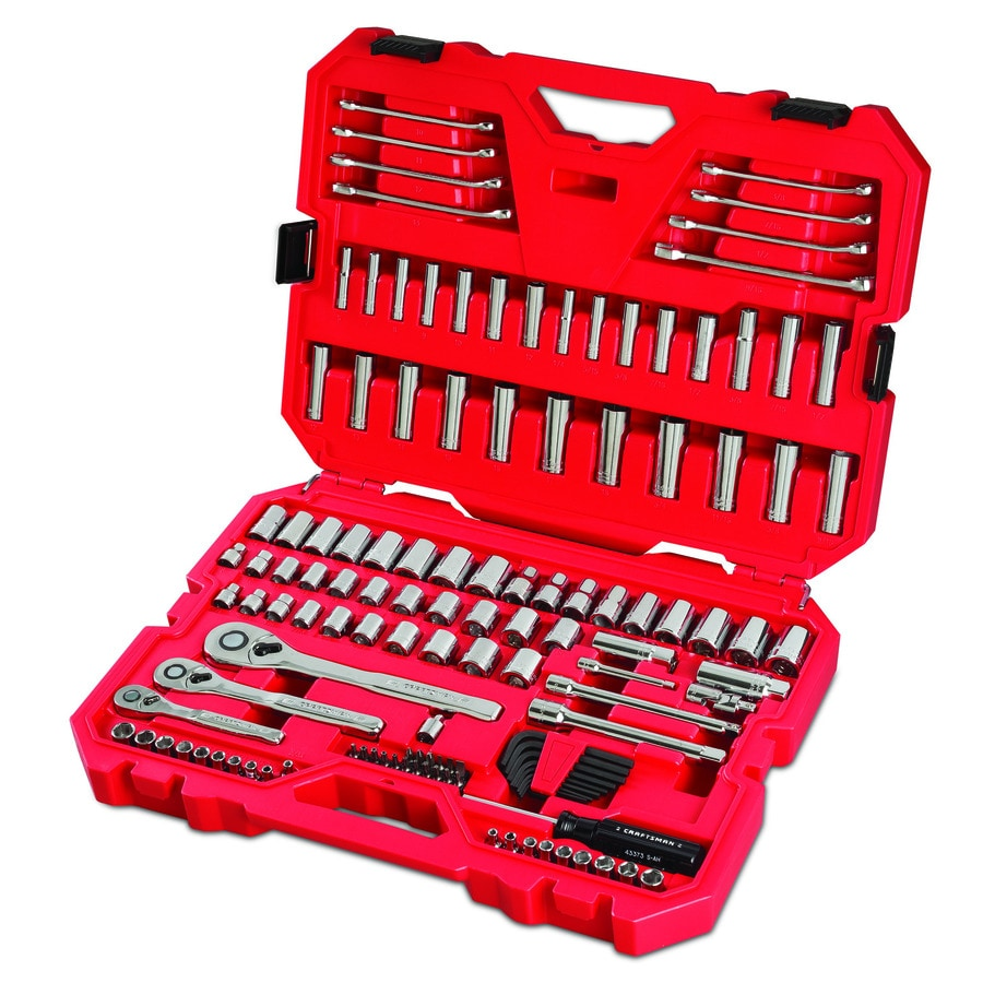 Craftsman Metric Alloy Steel 63 PC Tool Set