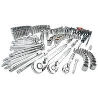 CRAFTSMAN 224-Piece Polished Chrome Mechanics Tool Set Deals