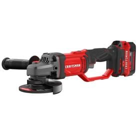CRAFTSMAN V20 4.5-in 20-volt Max Cordless Angle Grinder (1-Battery Included)