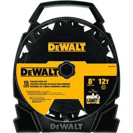 DEWALT 8-in 12-Tooth Carbide Miter/Table Saw Blade