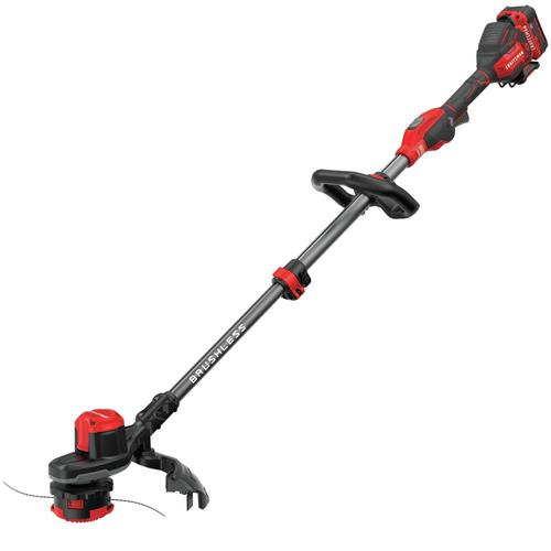 Battery Operated Weed Eater >> V20 20 Volt Max 13 In Straight Cordless String Trimmer Battery Included