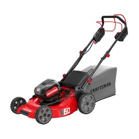 CRAFTSMAN V60 60-Volt Max Lithium Ion Self-propelled 21-in Cordless Electric Lawn Mower