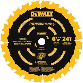 DEWALT Precision Trim 6-1/2-in 24-Tooth Carbide Circular Saw Blade