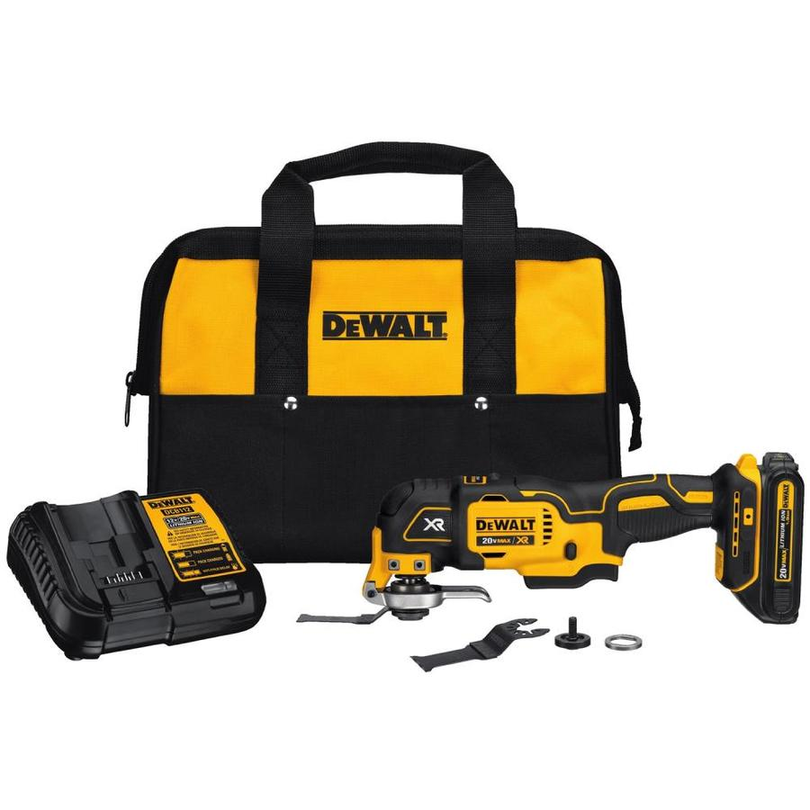 Dewalt Xr 2 Piece Cordless 20 Volt Max Oscillating Multi Tool Kit 1