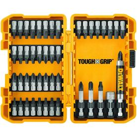 DEWALT Tough Grip 46-Piece Steel Screwdriver Bit Set
