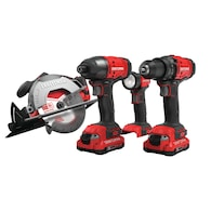 Deals on CRAFTSMAN V20 4-Tool 20-Volt Max Power Tool CMCK401D2