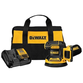 DEWALT 20-Volt Brushless Cordless Random Orbital Sander with Bag (Battery Included)