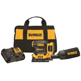 DEWALT XR 20-Volt 2s Brushless Cordless Sheet Sander with Bag (Battery Included)