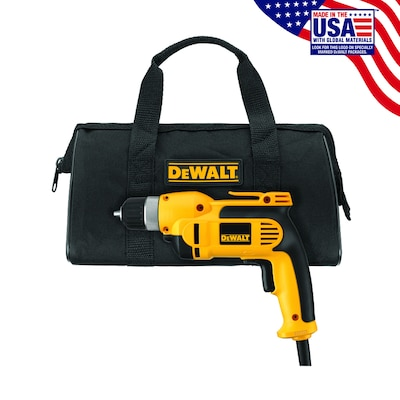DEWALT 8-Amp 3/8-in Keyless Corded Drills at Lowes com