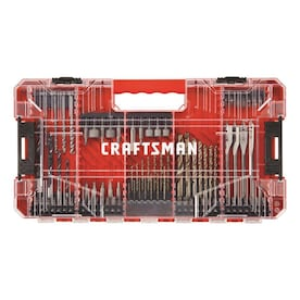 CRAFTSMAN 85-Piece Steel Shank Screwdriver Bit Set