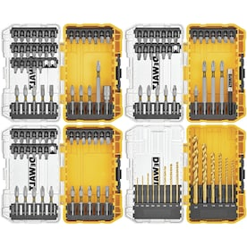 DEWALT 110-Piece Shank Screwdriver Bit Set