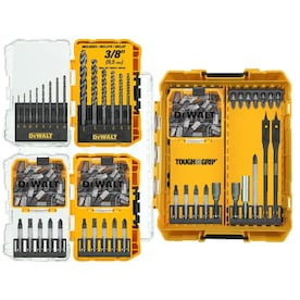 DEWALT Tough Grip 120-Piece Shank Screwdriver Bit Set