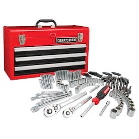 CRAFTSMAN CM 224Pc 3 Drawer Metal Box Mech Tool Set