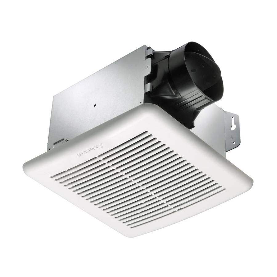 Shop Delta Breez Greenbuilder 1 5 Sone 100 Cfm White Bathroom Fan Energy Star At