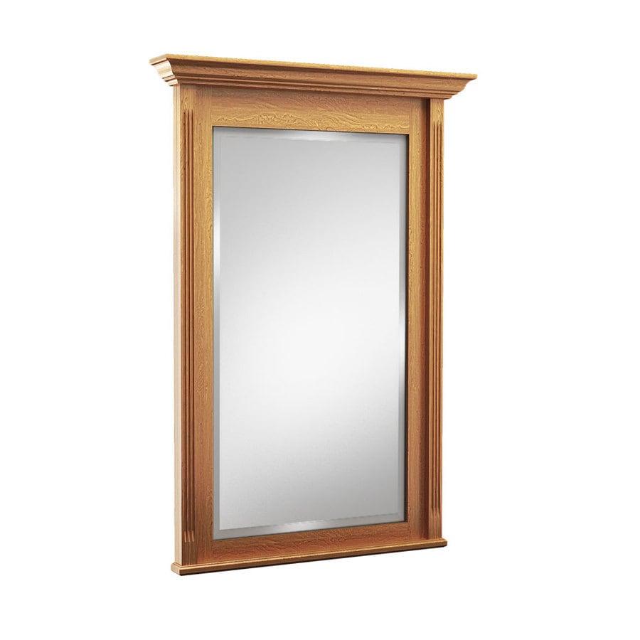 KraftMaid 36-in W x 36-in H Praline Rectangular Bathroom Mirror