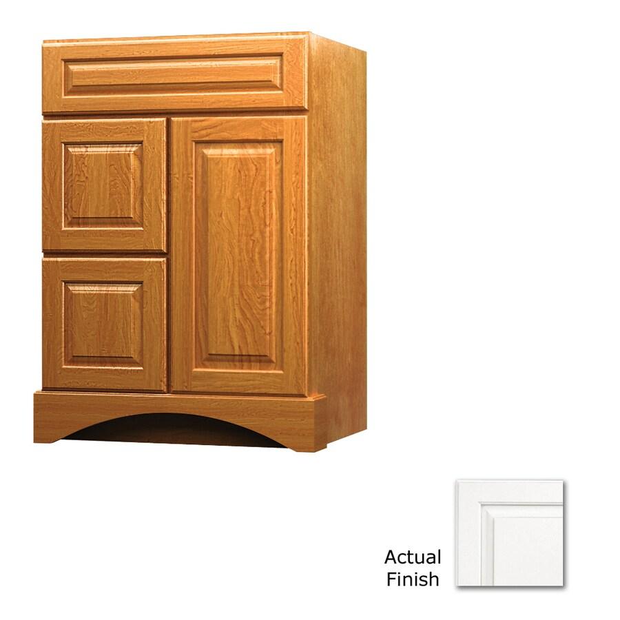 KraftMaid Summerfield Montclair Dove White (Common: 24-in x 21-in) Casual Bathroom Vanity (Actual: 24-in x 21-in)