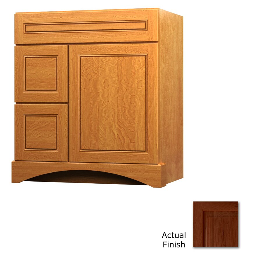 KraftMaid Summerfield Provence Autumn Blush (Common: 30-in x 21-in) Casual Bathroom Vanity (Actual: 30-in x 21-in)