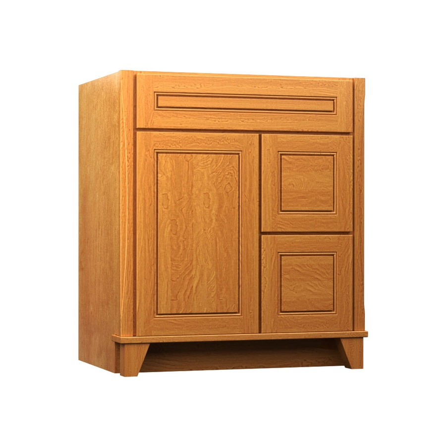 KraftMaid Praline 30-in Contemporary Bathroom Vanity