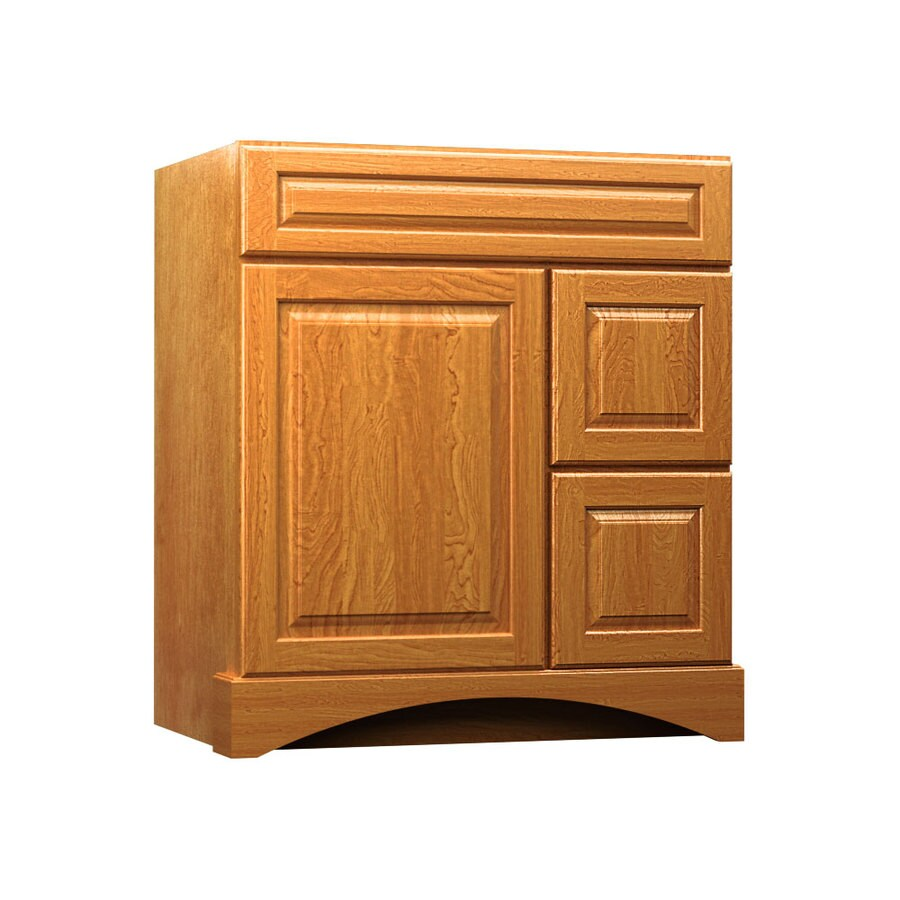 KraftMaid Praline Bathroom Vanity (Common: 30-in x 21-in; Actual: 30-in x 21-in)