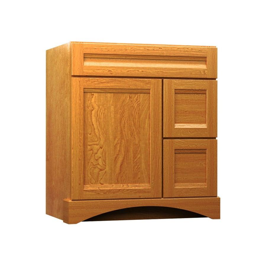 KraftMaid Summerfield Sonata Praline (Common: 36-in x 21-in) Casual Bathroom Vanity (Actual: 36-in x 21-in)