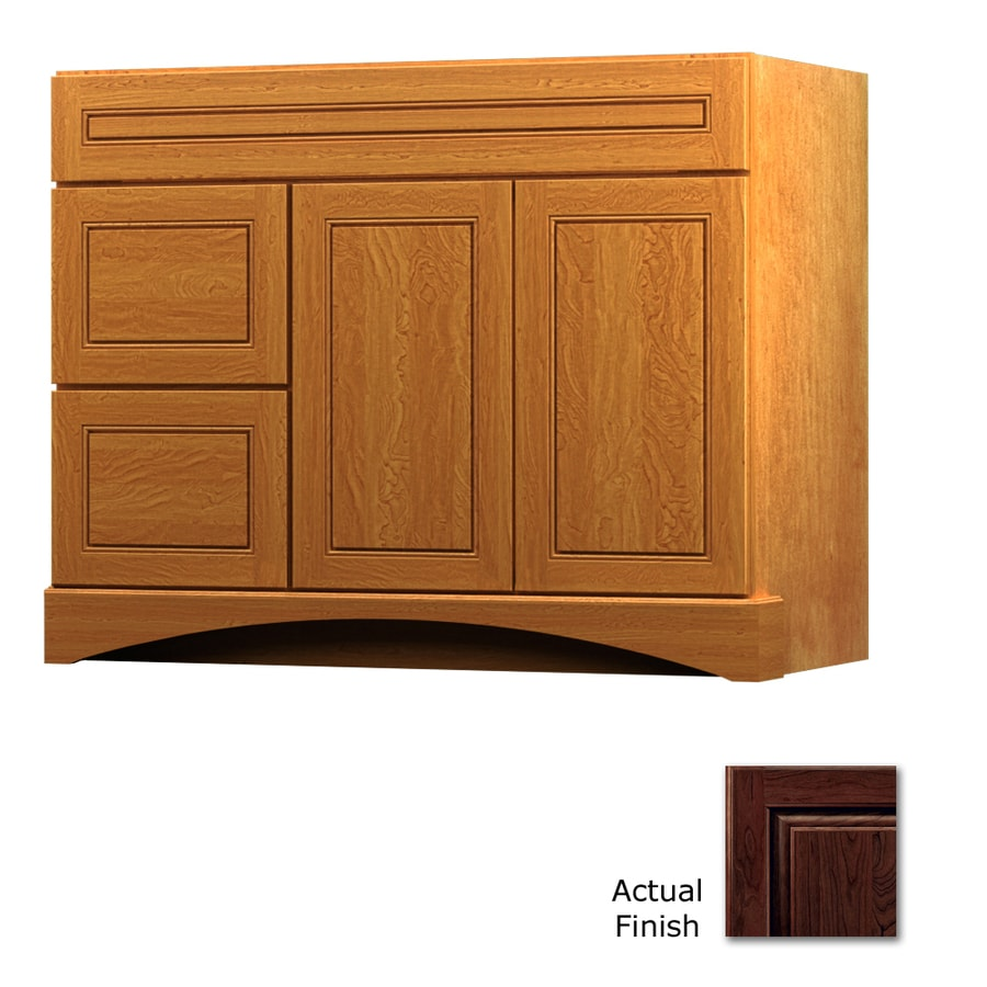KraftMaid Kaffe 42-in Casual Bathroom Vanity