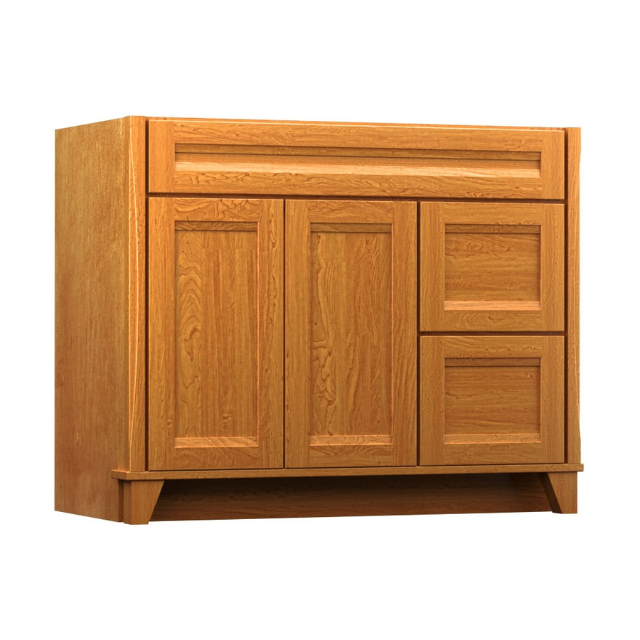 KraftMaid Praline 42-in Contemporary Bathroom Vanity
