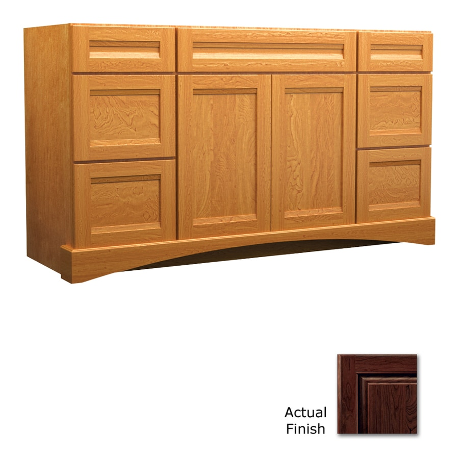 KraftMaid Kaffe Bathroom Vanity (Common: 48-in x 21-in; Actual: 48-in x 21-in)
