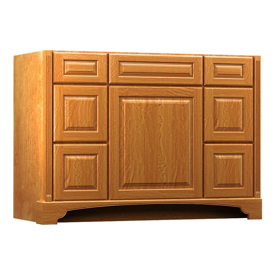 KraftMaid Praline Bathroom Vanity (Common: 48-in x 21-in; Actual: 48-in x 21-in)