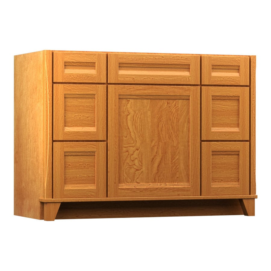 KraftMaid Praline 48-in Contemporary Bathroom Vanity